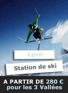 Tarif taxi Lyon station de ski